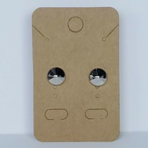 Silver Stud Earrings Post Fashion Costume Jewelry - $9.99