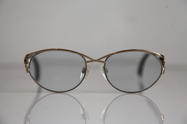 Vintage SILHOUETTE Eyewear, Gold Frame,  RX-Able Lenses Prescription. Au... - $56.93