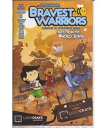 Boom! Bravest Warriors #1 Exclusive Loot Crate Variant Sealed Cartoon Ha... - $9.95