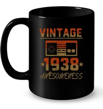 Vintage 1938  80th Birthday Gift Ceramic Mug - $13.99+