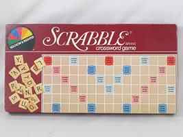 Scrabble 1982 Board Game Selchow & Righter Chieftain 100% Complete Excel... - $13.63