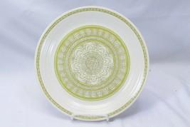 "Franciscan Hacienda Green Dinner Plates 10.625"" Lot of 9 - $68.59"