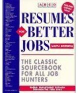 Resumes for Better Jobs by Brennan, Lawrence; Strand, Stanley; Gruber, E... - $1.99