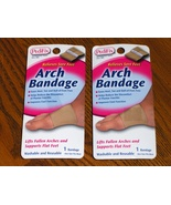 Pedi Fix Arch Bandage Foot Heel  Pain Relief Se... - $11.00