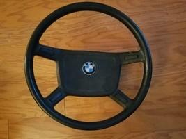 77-83 BMW 3 Series E21 OEM Steering Wheel w/ Badge 11188102 - $84.14