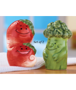Vegetable Salt and Pepper Shakers - $17.95