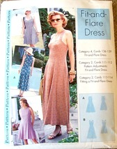 Women's Flit and Flair Dress Pattern, 4 - 22, S... - $10.00