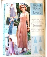 Women's Flit and Flair Dress Pattern, 4 - 22, Sewing Step-by-Step # 012-052-1736 - $10.00
