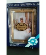 Elegance Metal Frame Album in One Sealed 5X 7 album 25 pages holds 100 4... - $18.69