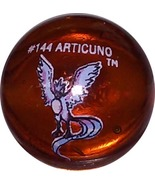 POKEMON MARBLE  ARTICUNO #144 Colored GLASS MARBLE - $8.98