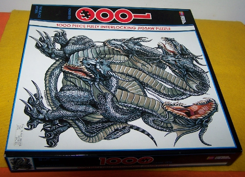 Primary image for 1000 Piece Jigsaw Puzzle New & Sealed  Dragon Scene