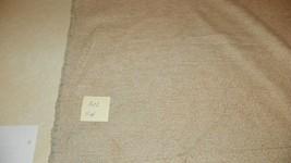 Beige Tan Stria Dot Print Chenille Upholstery Fabric 1 Yard  R302 - $29.95