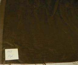 Olive Green Velvet Upholstery Fabric 1 Yard  R308 - $39.95