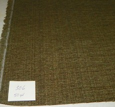 Green Stria Chenille Upholstery Fabric 1 Yard  R306 - $29.95
