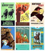6 Kentucky Derby Magnets - $14.99