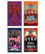 4 Black Sabbath Magnets - Set B - $15.99