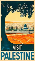 Visit Palestine Travel Magnet - $5.99