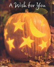 "Greeting Halloween Card ""A Wish For You"" Hope Your Halloween - $1.50"
