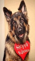 German Shepherd Magnet #4 - $6.99