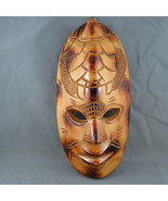 Hand Carved Tribal Mask - From Fiji - Seat Trule Themed !! - $59.00