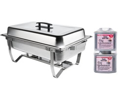 New! Stainless FOLDING Chafing Dish Chafer Warming Catering LOWEST TOTAL... - €26,22 EUR
