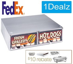 APW Wyott 100 Hot Dog Bun Cabinet for 100 HOT DOG BUNS! Unheated Plus $1... - $247.49