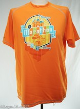 runDisney Disneyland Half Marathon Orange Tech Shirt XS Extra Small Run ... - $19.00