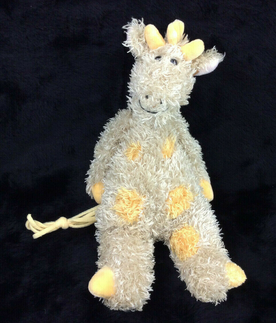 "Primary image for Jellycat Giraffe Bunglie Junglie Tan Yellow Spots Beanbag Floppy 12"" Plush Lovey"
