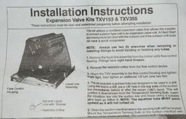 Emerson 1085833 Expansion Valve Kit AMF355TKB Up to 5 ton image 5