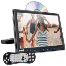 Pyle PLHRDVD904 9.4 LCD Universal Headrest Monitor with DVD/CD Player & ... - $141.46