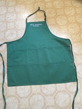 Hyles-Anderson Long Apron New Three deep front pockets. Dark green color... - $19.99