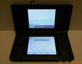 Nintendo DS Lite blue Handheld Video Game Console Broken Hinge - $42.08
