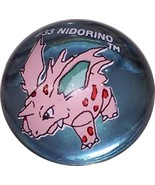 POKEMON MARBLE NIDORINO #33 Colored GLASS MARBLE - $7.98