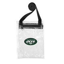 NFL Licensed Stadium Compliant Clear Crossbody Game Day Bag (New York Jets) - $16.82