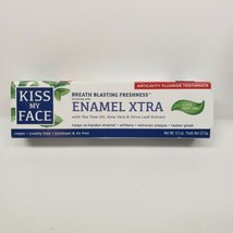 Kiss My Face Enamel Xtra Cool Mint Gel Toothpaste Fluoride 4.5 oz Vegan ... - $8.00