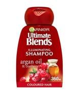 Garnier Ultimate Blends Argan Oil Coloured Hair Shampoo 360ml - $12.62