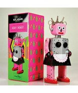 """ROXY ROBOT 5.5"""" Saint John Wind Up Tin Toy Collectible Retro Outer Space... - $26.95"""