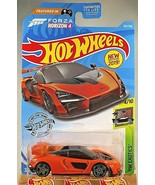 2019 Hot Wheels #162 Exotics 4/10 FORZA Horizon 4 McLAREN SENNA Orange V... - $6.75