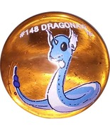 POKEMON MARBLE DRAGONAIR #148 Colored GLASS MARBLE - $7.98