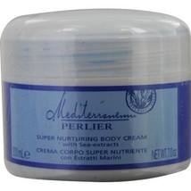 PERLIER Mediterranean Super Nurturing Body Cream with Sea Extracts--7 oz**Rare - $31.19