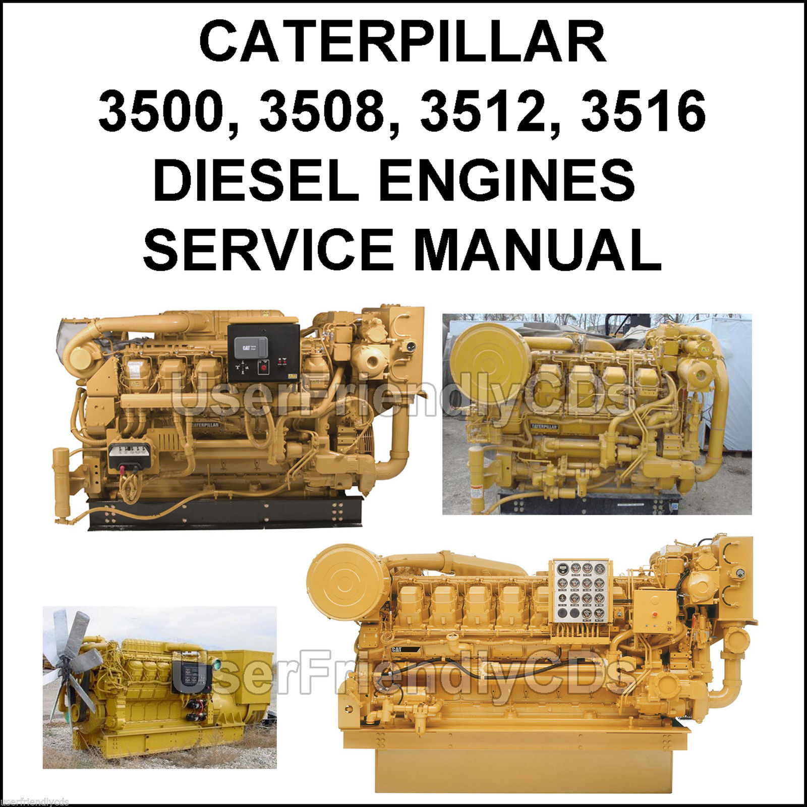 caterpillar 3500 3508 3512 3516 diesel and 50 similar items rh bonanza com Caterpillar C15 Manual caterpillar 3512 parts manual