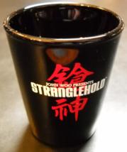 Stranglehold Shot Glass John Woo Presents Black Glass Red White Print Li... - €7,09 EUR