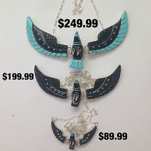 Sterling Silver Navajo Native Inlay Turquoise &... - $199.99