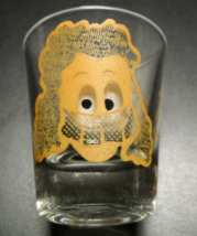 One Is My Limit Shot Glass Moving Eyes Clear Glass Yellow  Illustration Print - $7.99