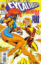 Excalibur #72 NM! ~ MUTANT MAYHEM - $1.00