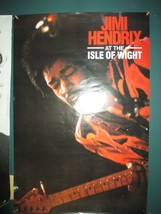 Jimi Hendrix at the Isle of Wight Poster Large poster measures 36 x 24 I... - $12.99