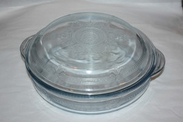 Fire King Blue Covered Casserole Dish - $22.99