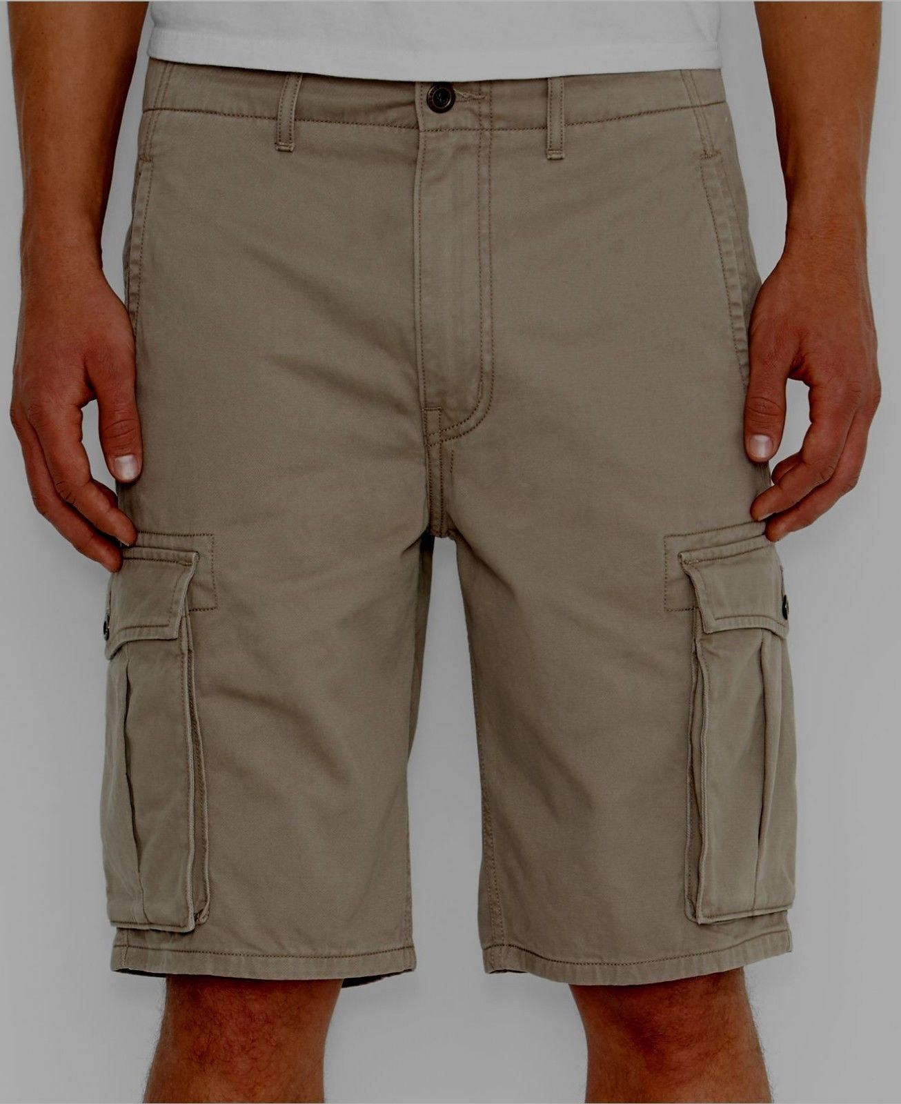b1e377258f LEVI's Men's Ace Cargo I Shorts W: 30 Relaxed Fit Chino Beige Taffy