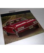 1967 Chevrolet Chevy Sales Car Brochure Corvair Monza 500 Car Dealership... - $32.62