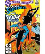 DC COMICS PRESENTS #52 ~ SUPERMAN & DOOM PATROL - $1.50
